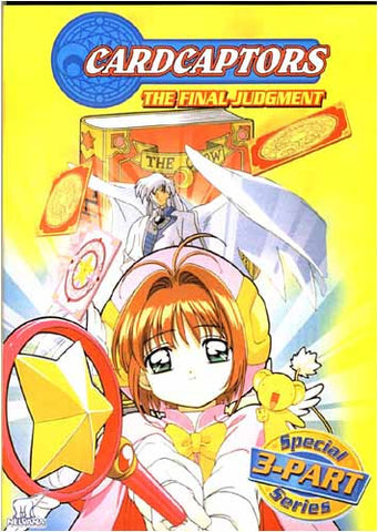 Cardcaptors - The Final Judgment (Parts 1,2,3) DVD Movie