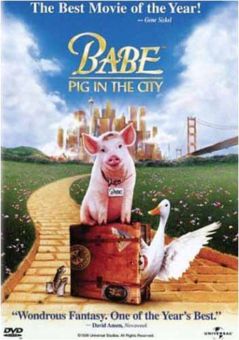 Babe - Pig in the City DVD Movie