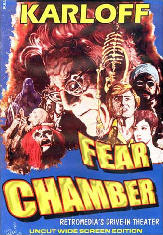 Fear Chamber - Uncut DVD Movie