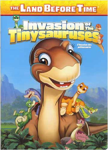 The Land Before Time XI - The Invasion of the Tinysauruses(bilingual) DVD Movie