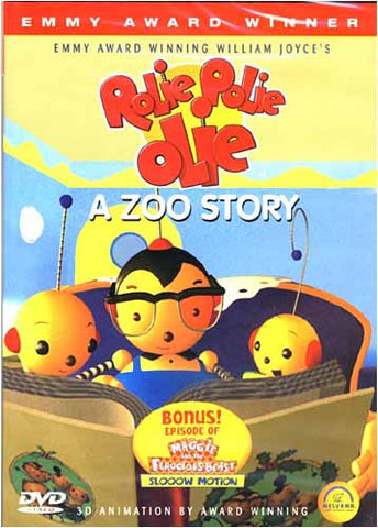 Rolie Polie Olie - A Zoo Story DVD Movie