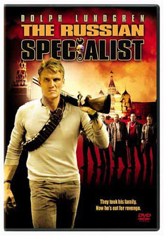 The Russian Specialist DVD Movie