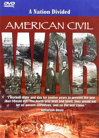 American Civil War - Nation Divided DVD Movie