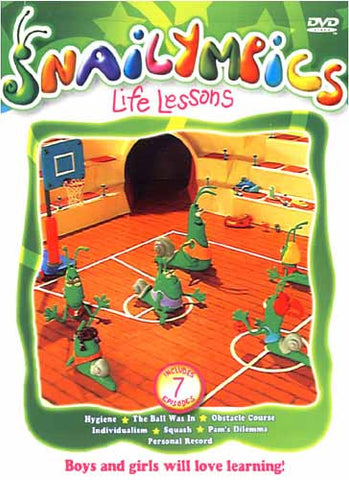Snailympics - Life Lessons DVD Movie