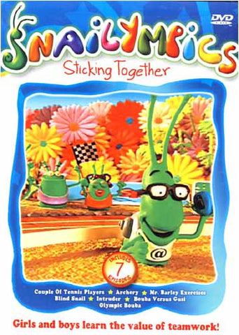 Snailympics - Sticking Together DVD Movie