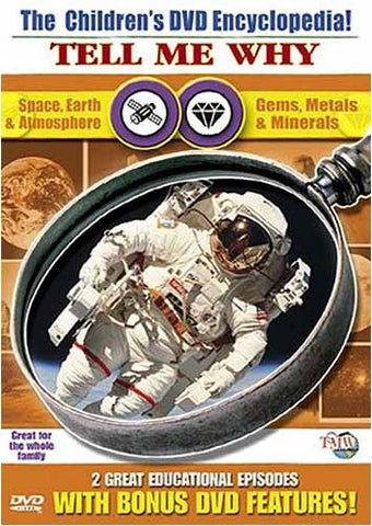 The Children's Encyclopedia! - Tell Me Why - 2 - Space, Earth & Atmosphere/Gems,Metals & Minerals DVD Movie
