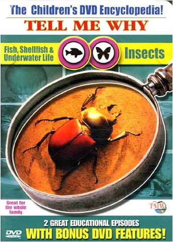 The Children's Encyclopedia - Tell Me Why - Fish, Shellfish & Underwater Life/Insects DVD Movie