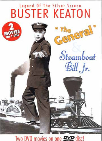 The General and Steamboat Bill Jr. - Buster Keaton DVD Movie