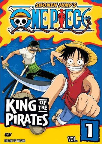 One Piece - Vol. 1 - King of the Pirates DVD Movie