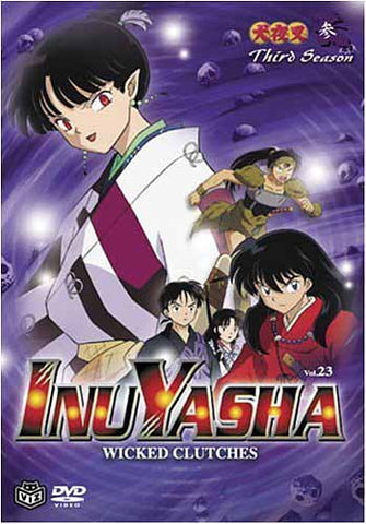 InuYasha - Wicked Clutches (Vol. 23) DVD Movie