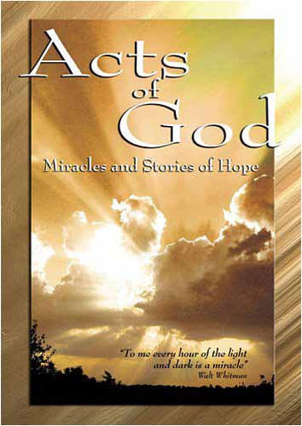 Acts of God - Miracles and Stories of Hope DVD Movie