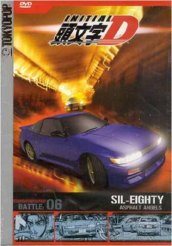 Initial D - Battle 6 - Asphalt Angels DVD Movie