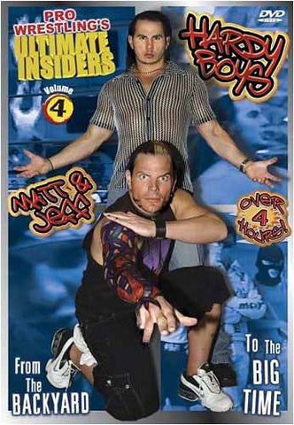 Pro Wrestling's - Ultimate Insiders, Vol. 4: Hardy Boys DVD Movie