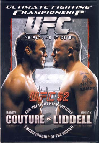 UFC (Ultimate Fighting Championship) 52 - Randy Couture vs. Chuck Liddell DVD Movie