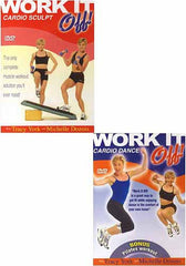 Work It Off - Cardio Dance / Cardio Sculpt (2 Pack) (Boxset)
