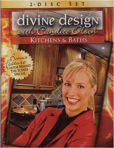Divine Design with Candice Olson - Kitchens and Bath (Boxset) DVD Movie