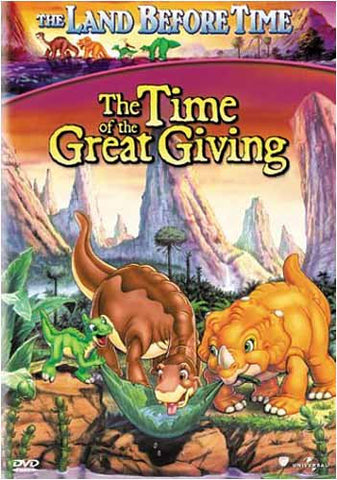 The Land Before Time - The Time of the Great Giving (Vol. 3) DVD Movie