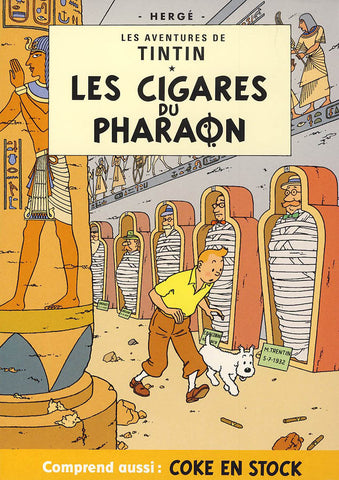 Les Aventures De Tintin: Les Cigares du Pharaon / Coke en Stock (Full Screen) DVD Movie