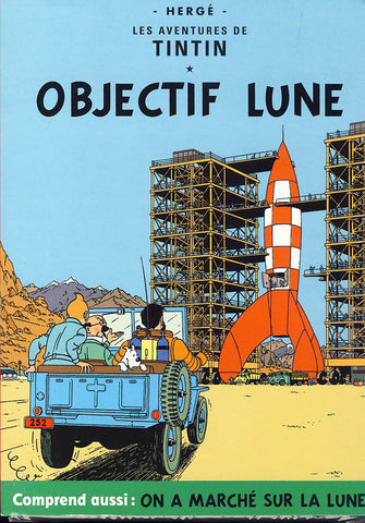 Les Aventures De Tintin: Objectif Lune / On a Marche sur la Lune (Full Screen) DVD Movie