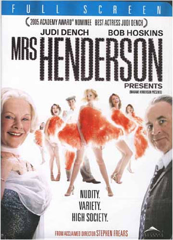 Mrs. Henderson Presents (Full Screen Edition) DVD Movie