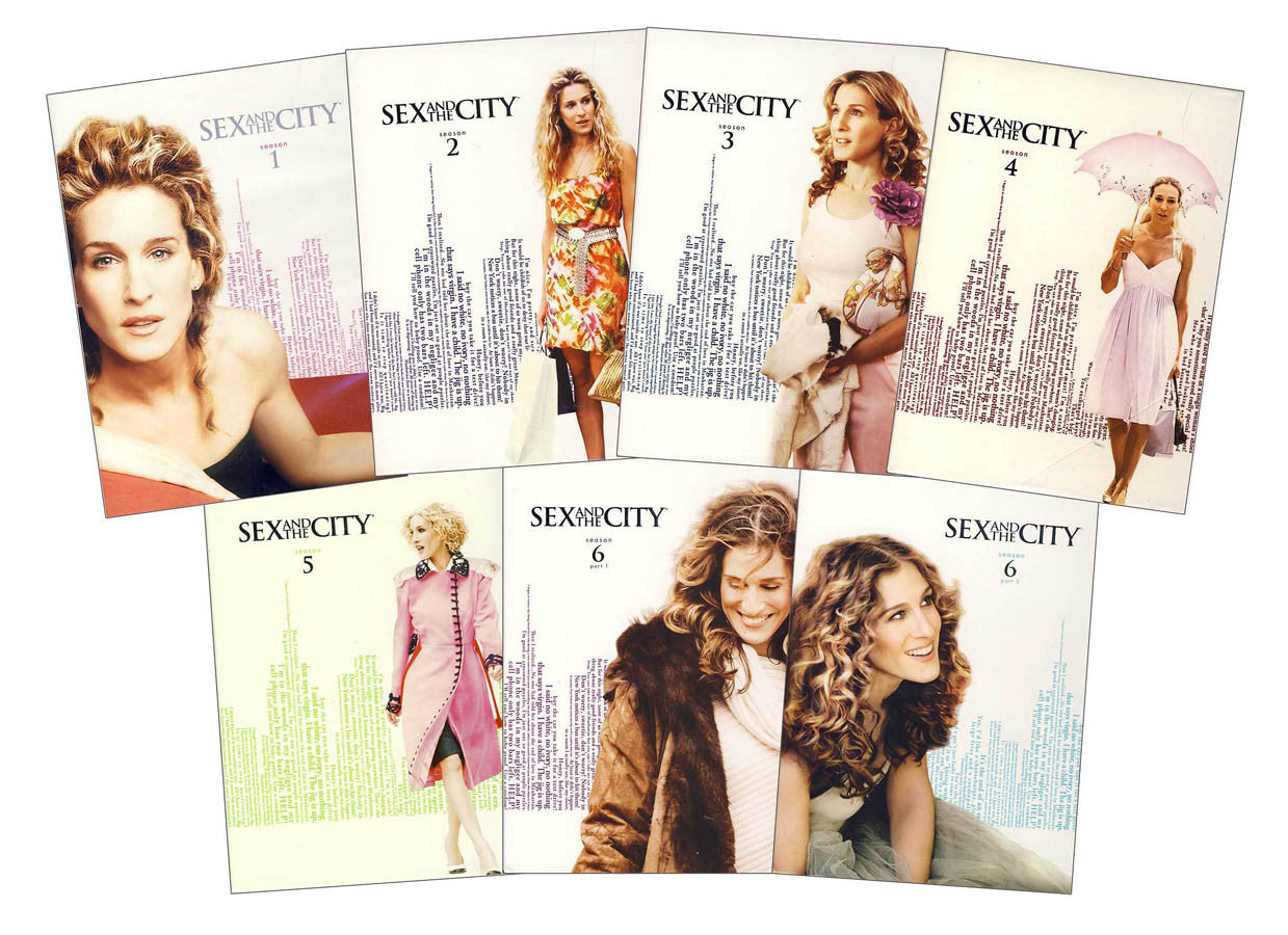 Sex And The City - The Complete Series 7 Pack Seasons 1 -4838