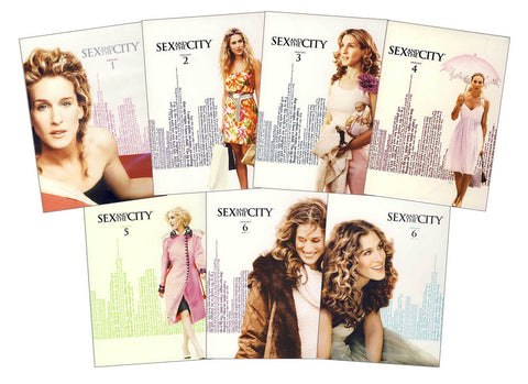 Sex And The City - The Complete Series (7 Pack) (Seasons 1-6) DVD Movie