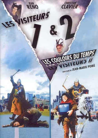 Les Visiteurs / Les Visiteurs 2 - Les Couloirs du Temps DVD Movie