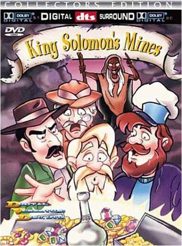 King Solomon's Mines(Collector Edition) (Animated Version) DVD Movie