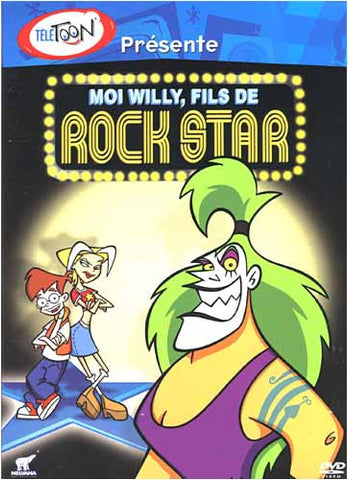 Moi Willy, fils de Rock Star DVD Movie