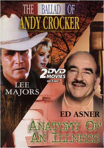 The Ballad of Andy Crocker / Anatomy of an Illness ... 2 DVD Movies on 1 Disc DVD Movie