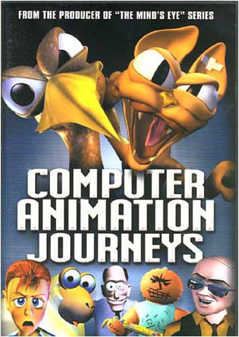 Computer Animation Journeys DVD Movie