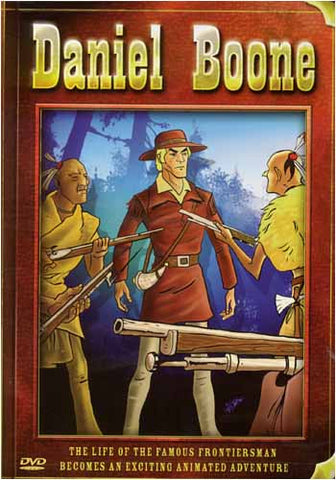 Daniel Boone (Animated) DVD Movie