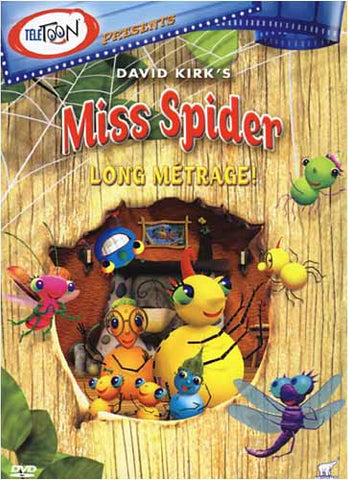 Miss Spider's Sunny Patch Friends - Long Metrage! DVD Movie