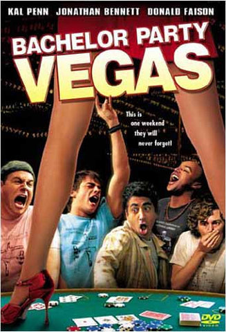 Bachelor Party Vegas DVD Movie