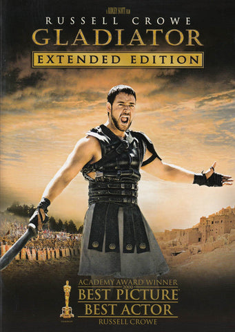 Gladiator - Extended Edition (Keepcase) DVD Movie