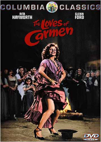 The Loves of Carmen DVD Movie