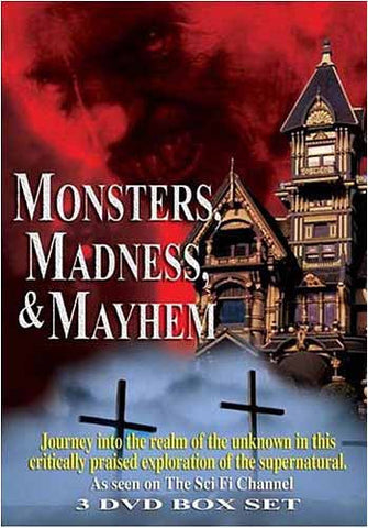 Monsters, Madness And Mayhem (Boxset) DVD Movie