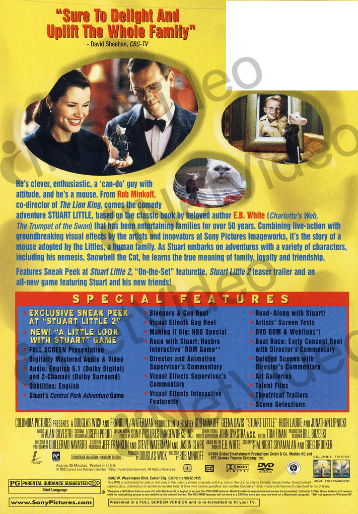 Stuart Little Deluxe Edition Stuart Little 2 Special Edition The Trumpet Of the Swan Movie free download HD 720p