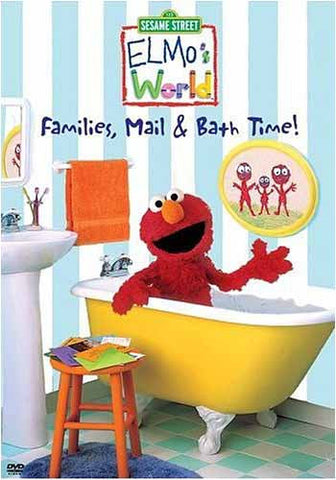 Families, Mail and Bath Time! - Elmo's World- (Sesame Street) DVD Movie