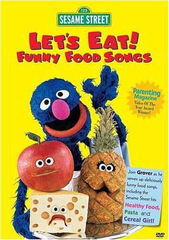 Let's Eat - Funny Food Song's - (Sesame Street) DVD Movie