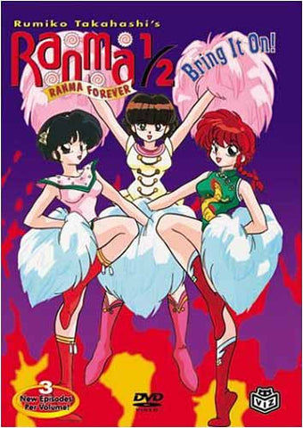 Ranma 1/2: Ranma Forever - Bring It On DVD Movie