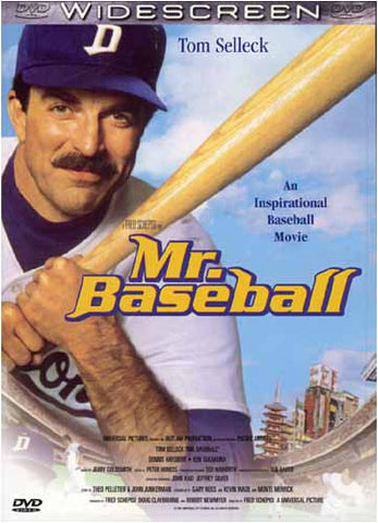 Mr. Baseball DVD Movie