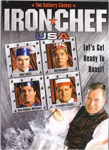 Iron Chef USA, Two Culinary Clashes DVD Movie