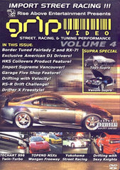 Grip Video -Street,Racing And Tunning PerfomanceVol. 4