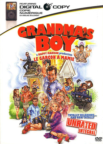 Grandma's Boy (Unrated) (Le Garcon a Mamie) DVD Movie