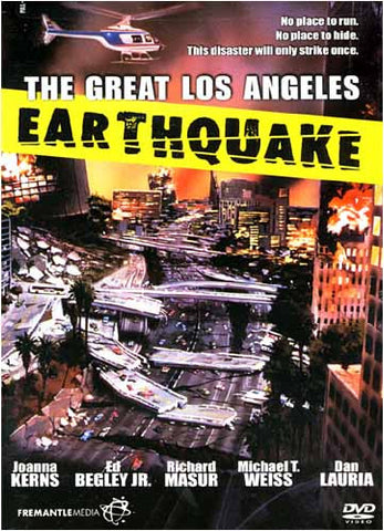 The Great Los Angeles Earthquake DVD Movie