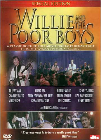 Willie and the Poor Boys (Special Edition) DVD Movie