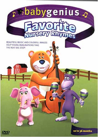 Baby Genius - Favorite Nursery Rhymes DVD Movie