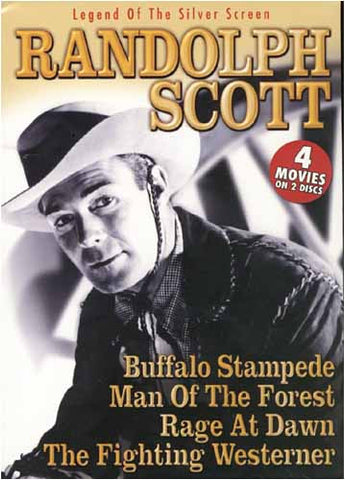 Randolph Scott - Legend Of The Silver Screen (Buffalo Stampede...Rage At Dawn)(Boxset) DVD Movie