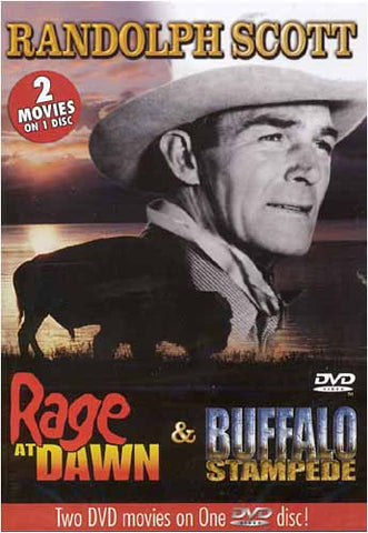 Rage At Dawn/ Buffalo Stampede DVD Movie